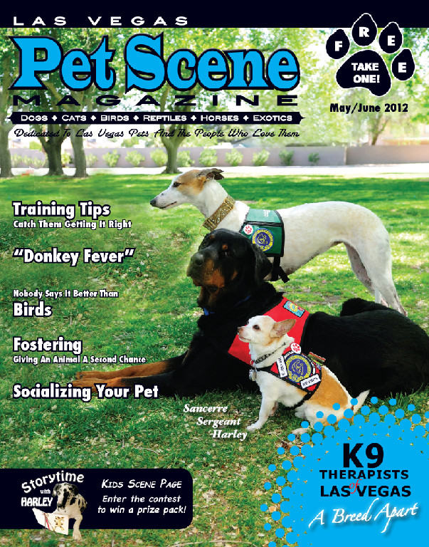 Lvpetscene may june2012 issue a home 4 spot animal for Dog rescue las vegas nv